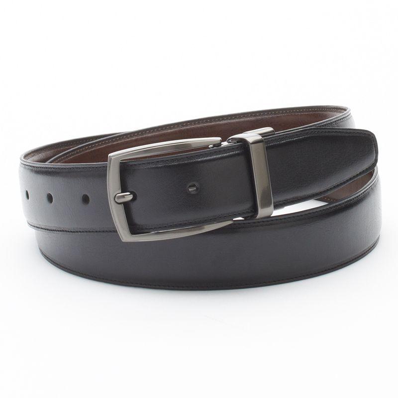 Men's Croft & Barrow Reversible Dress Belt