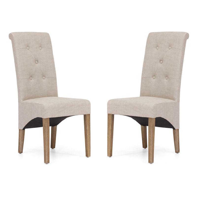 Zuo Era 2 piece Hayes Valley Dining Chair Set