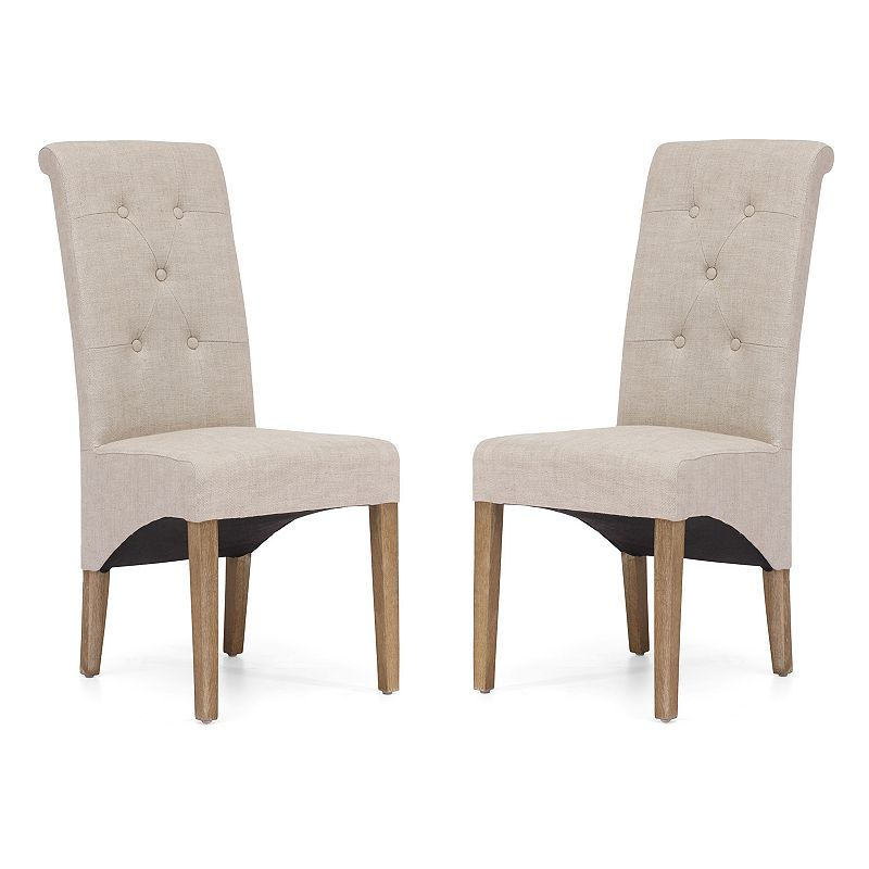 Zuo Era 2-piece Hayes Valley Dining Chair Set