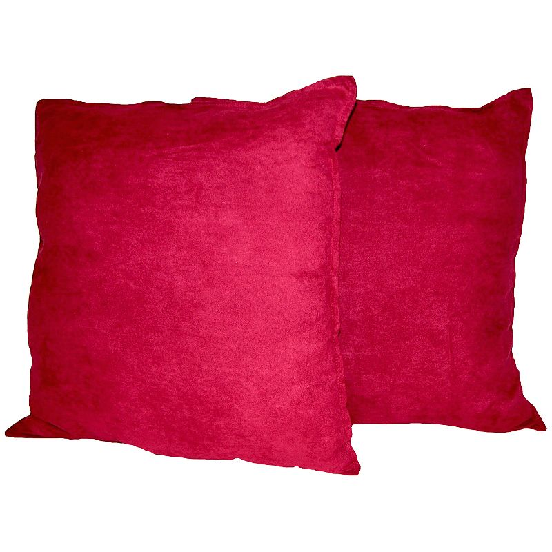 Suede Square Pillow Kohl s