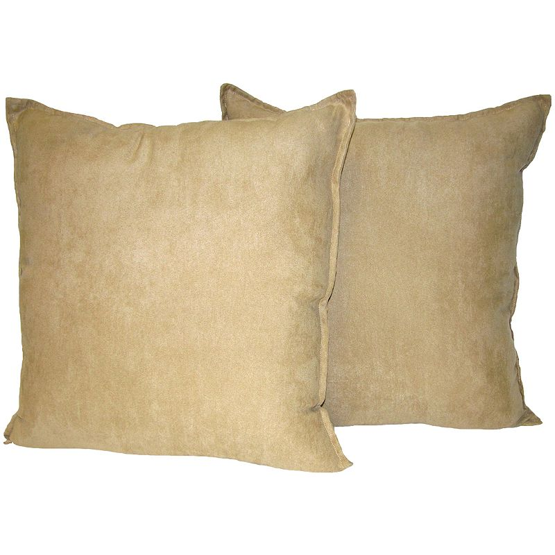 Floor Pillows Kohls : Hudson Street 2-pk. Faux-Suede Floor Pillows - 22 x 22 DealTrend