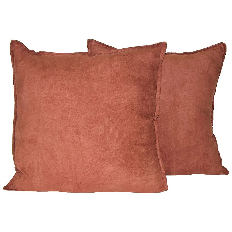 Faux Suede Polyester Pillows Kohl s