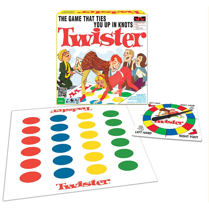 Classic Twister Game by Winning Moves Games