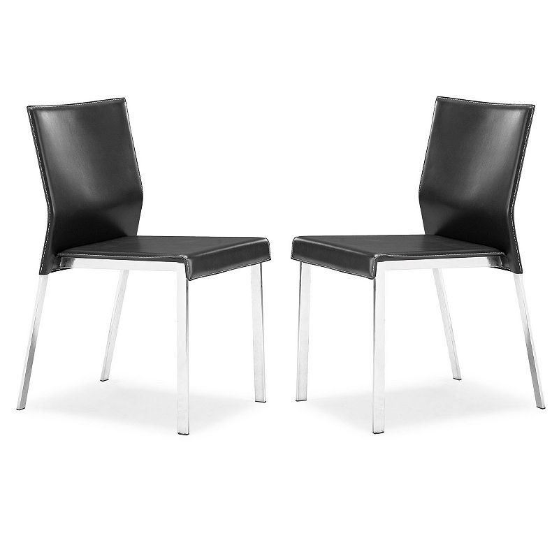 Zuo Modern Boxter 2-pc. Dining Chair Set