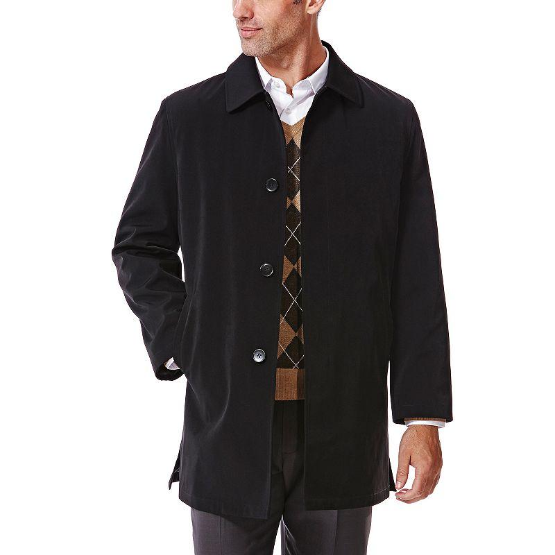 Men's Haggar® Classic-Fit Bonded Rain Coat