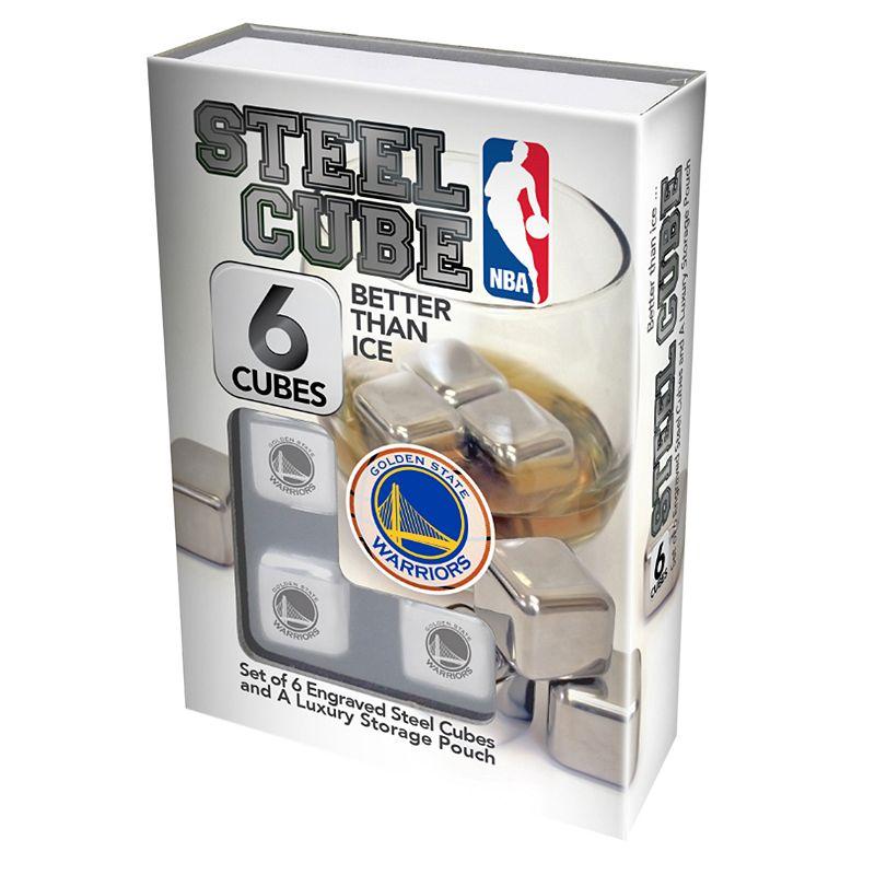 Golden State Warriors 6-Piece Steel Cubes