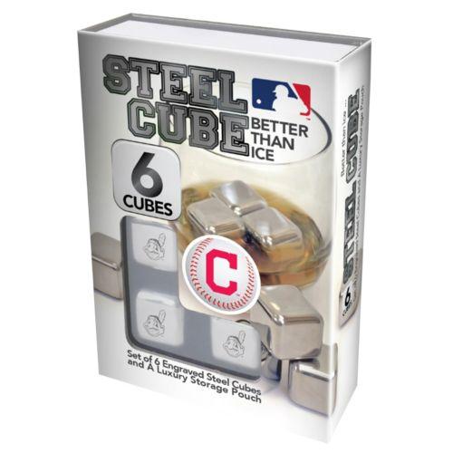 Cleveland Indians 6-Piece Steel Cubes