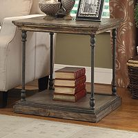 Treasure Trove Accents Distressed End Table