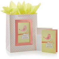 Hallmark ''Sweetie'' Gift Bag & Card Set