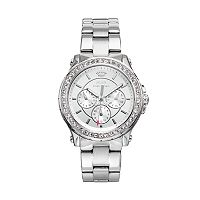 Juicy Couture Women's Pedigree Crystal Stainless Steel Watch - 1901048