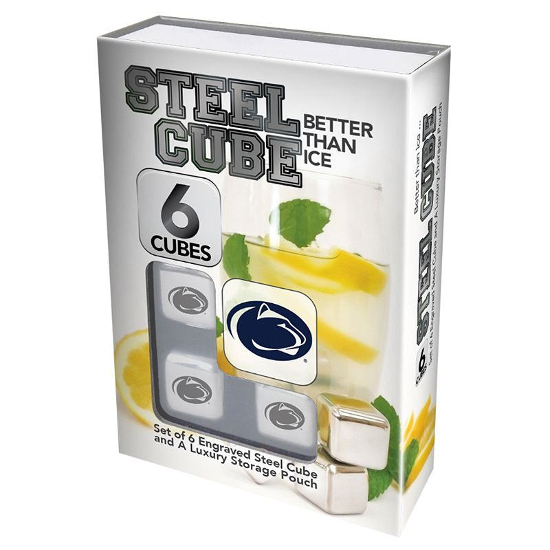 Penn State Nittany Lions 6-Piece Steel Cubes