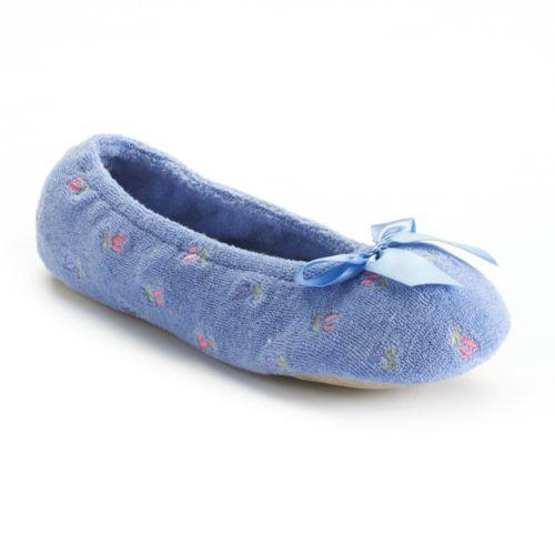 Isotoner Ballet Slippers - Women