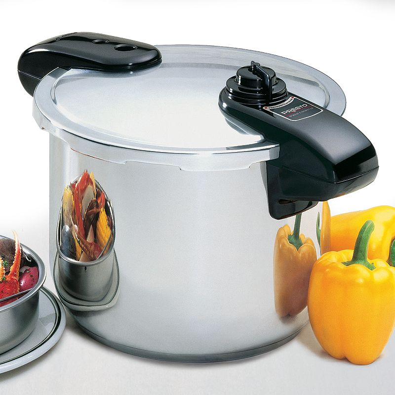 Presto Professional 8-qt. Stainless Steel Pressure Cooker