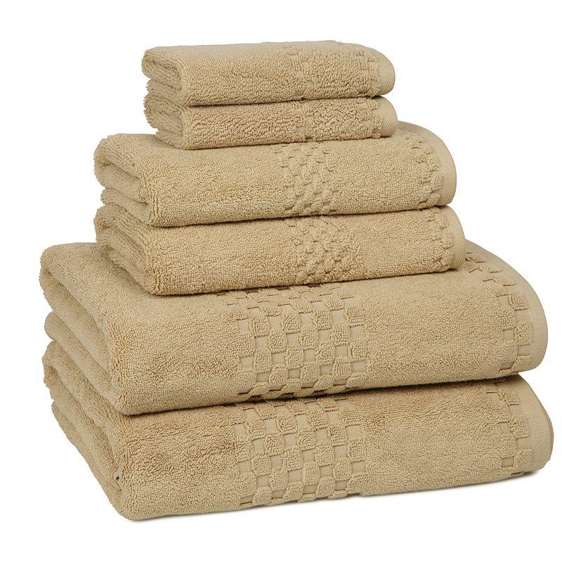 Kassatex Hotelier 6-pc. Egyptian Cotton Bath Towel Set