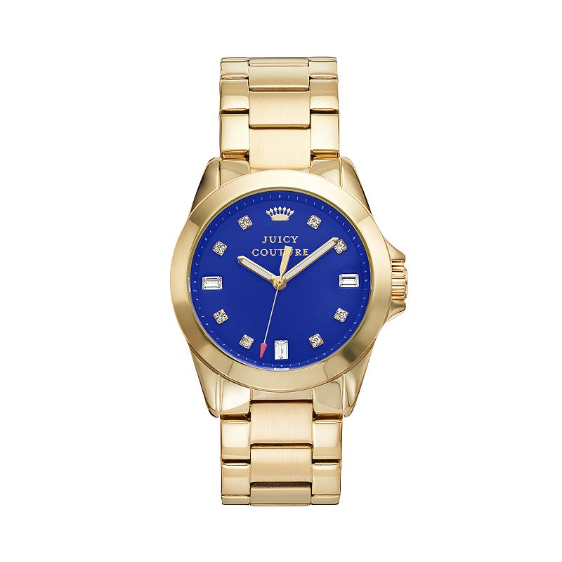 Juicy Couture Women's Stella Small Crystal Stainless Steel Watch - 1901120