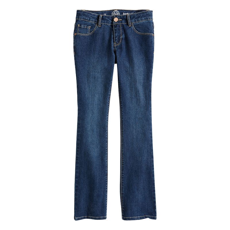 Girls 7-16 & Plus Size SO® Bootcut Jeans