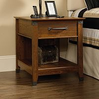 Sauder Carson Forge Collection Side Table