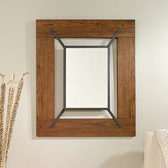 sauder carson forge collection wall mirror