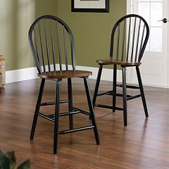 Sauder 2-piece Edge Water Collection Counter Chair Set by