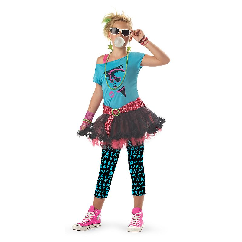 80's Valley Girl Costume - Kids