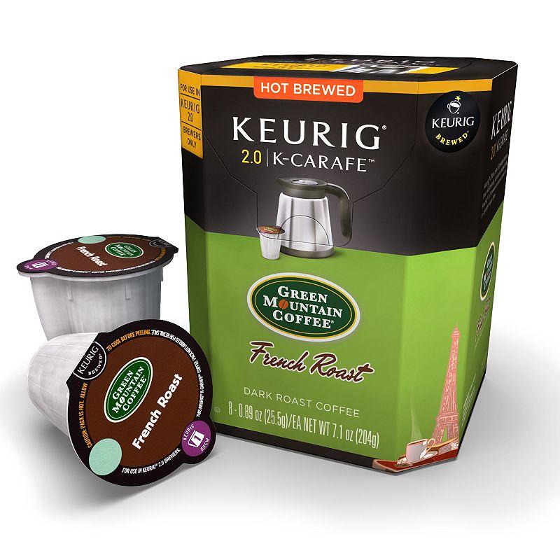 Keurig® K-Carafe™ Pod Green Mountain Coffee French Roast Dark Roast Coffee - 8-pk.