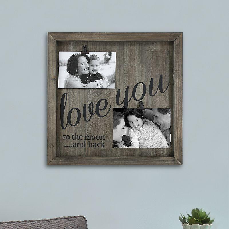 fetco 39 39 love you 39 39 photo clip wall decor dealtrend. Black Bedroom Furniture Sets. Home Design Ideas
