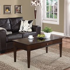Simpli Home Carlton Coffee Table by