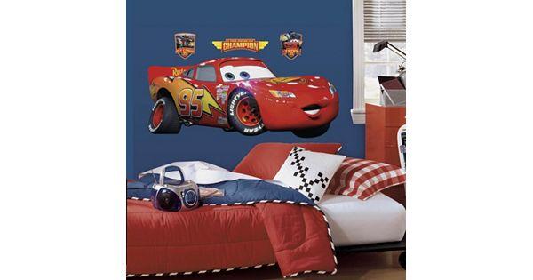 Disney / Pixar Cars Lightning McQueen Peel And Stick Wall