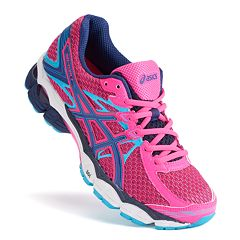 pink asics shoes for women