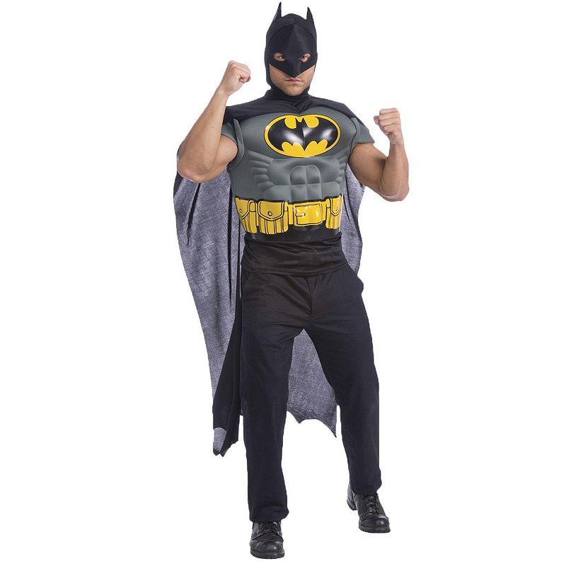 DC Comics Batman Muscle Chest Costume Kit - Adult
