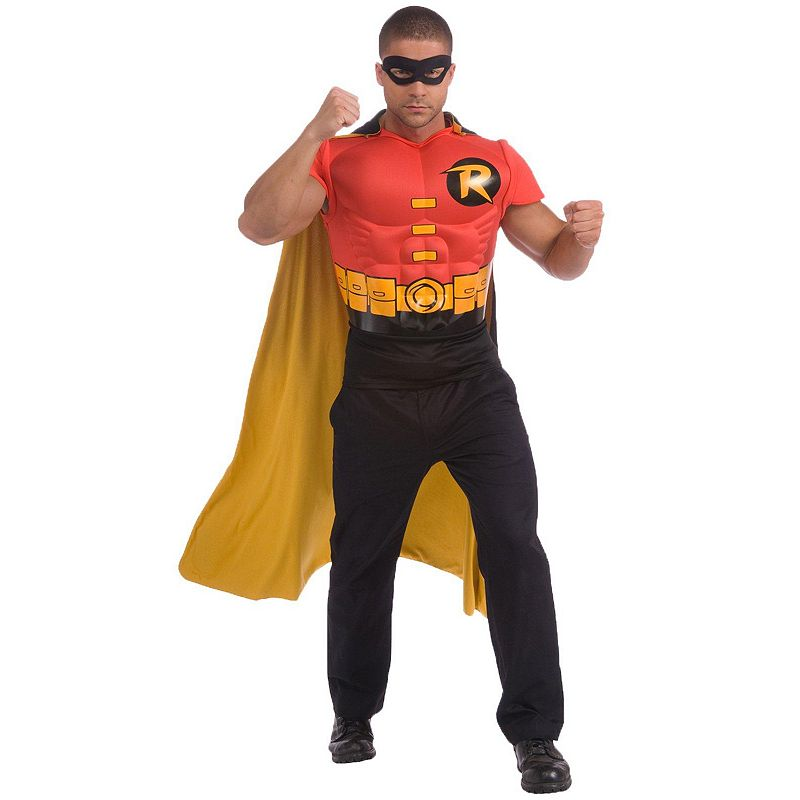 DC Comics Robin Muscle Chest Costume Kit - Adult