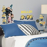 Despicable Me 2 Peel & Stick Wall Decals