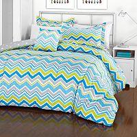 iTEEN Annmarie Chevron Reversible Comforter Set