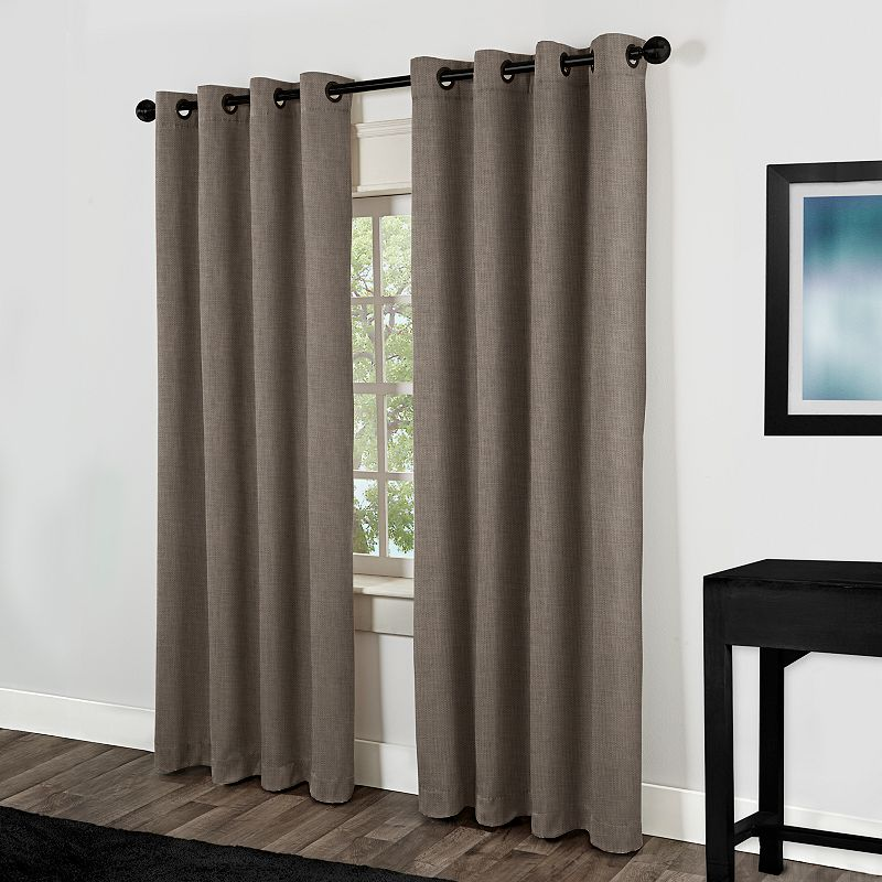 Exclusive Home Rita Curtain Pair 54 X 84 Dealtrend - spencer home decor curtains