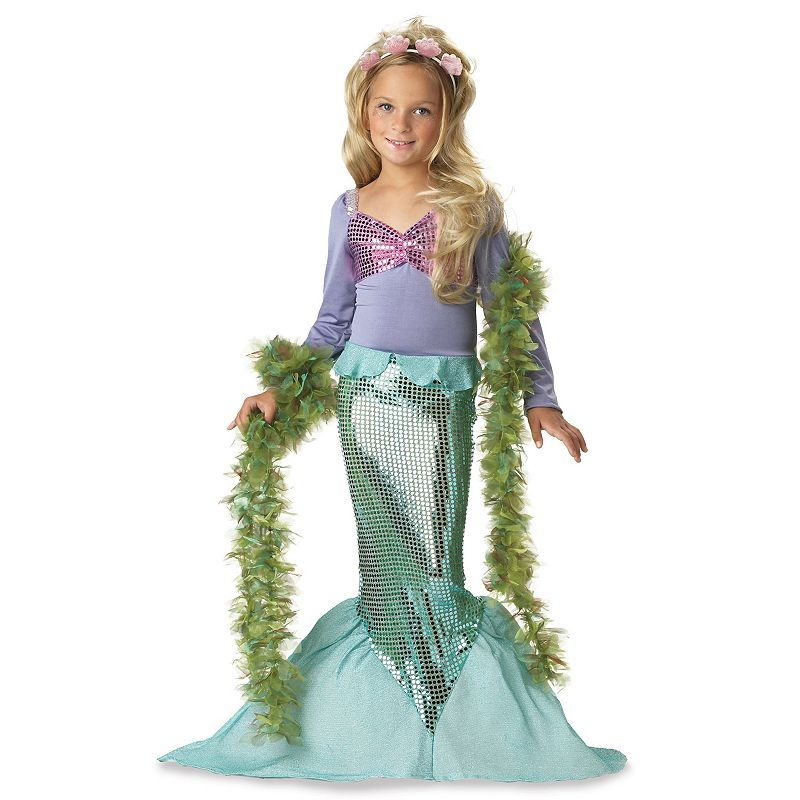 Lil' Mermaid Costume - Kids Plus