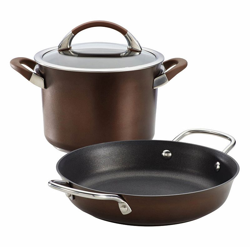 Circulon Symmetry 3-pc. Hard-Anodized Nonstick Cookware Set