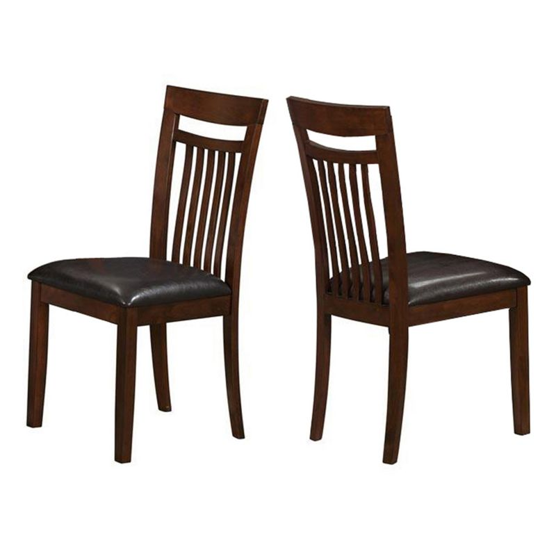 Padded Seat Wood Dining Chair
