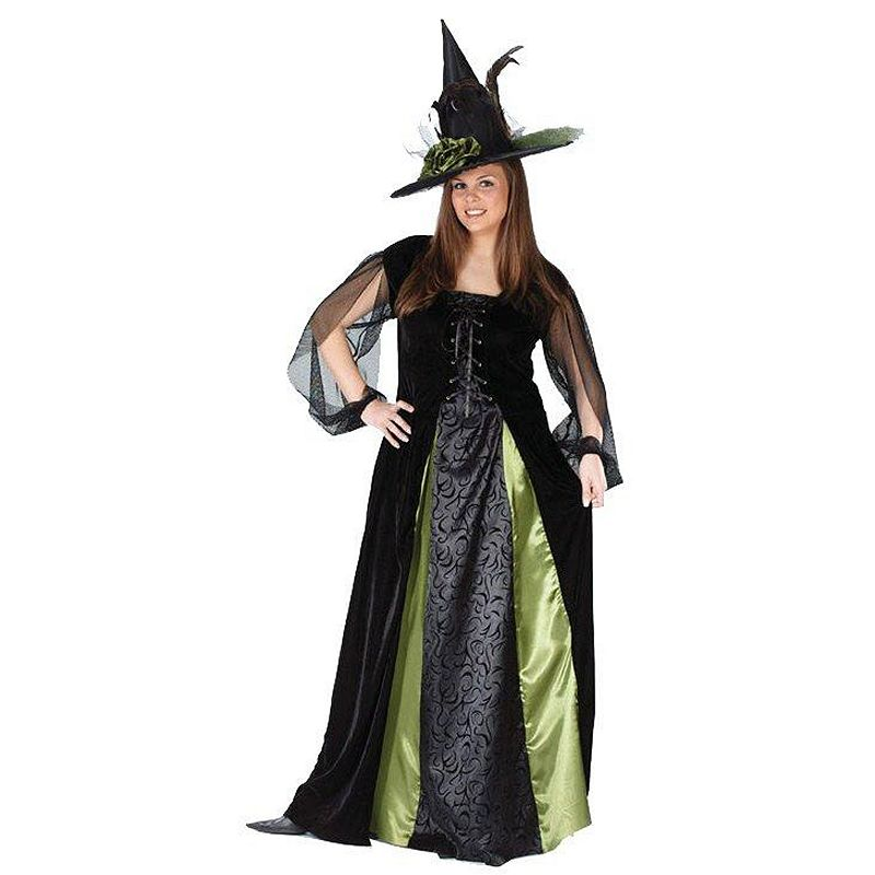 Goth Maiden Witch Costume - Adult Plus