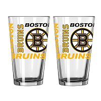 Boelter Brands Boston Bruins 2-Pack Pint Glass Set