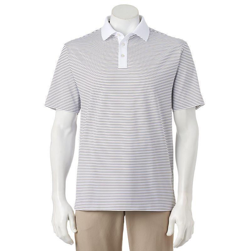 Men's Ben Hogan Fine Line Striped Performance Golf Polo