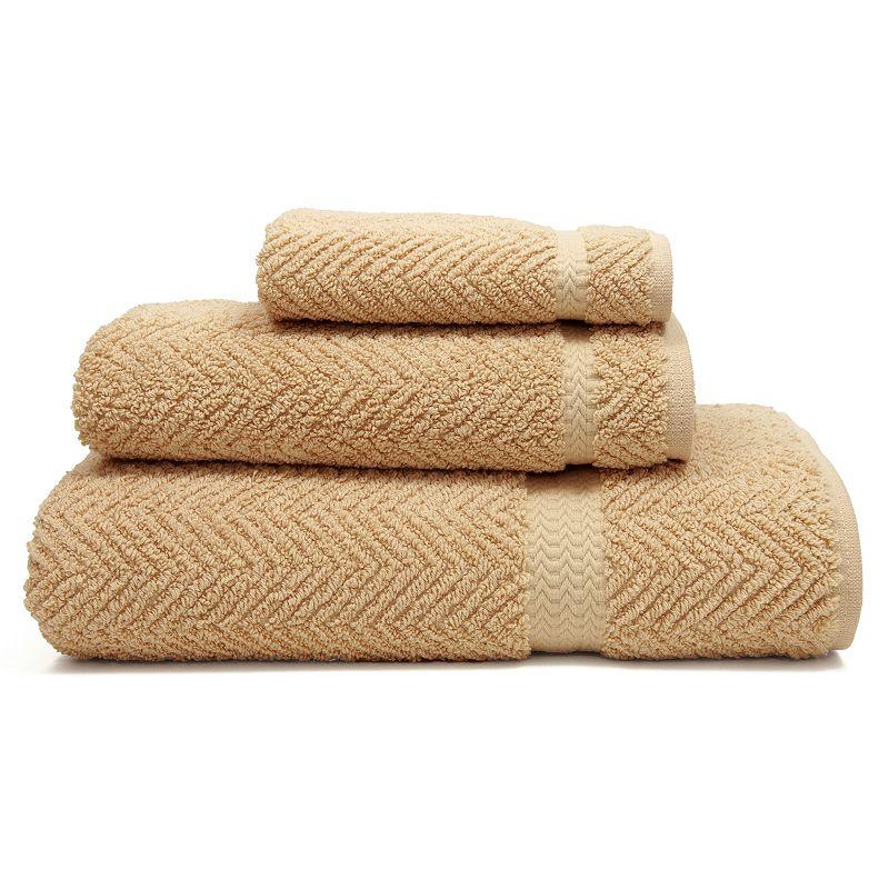 Linum Home Textiles Herringbone 3-pc. Bath Towel Set