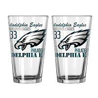 Boelter Philadelphia Eagles Spirit Pint Glass Set