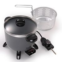 Presto 5-qt. Ceramic Multi-Cooker, Fryer & Steamer