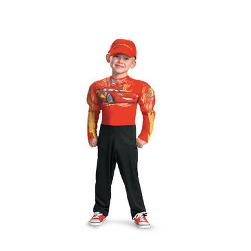 Disney / Pixar Cars Lightning McQueen Classic Muscle Costume - Kids
