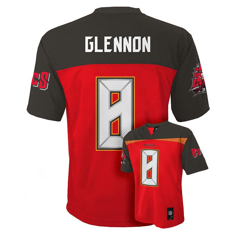 Boys 8-20 Tampa Bay Buccaneers Mike Glennon NFL Jersey