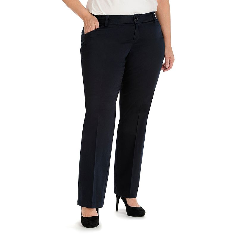 Plus Size Lee Maxwell Modern Fit Curvy Dress Pants