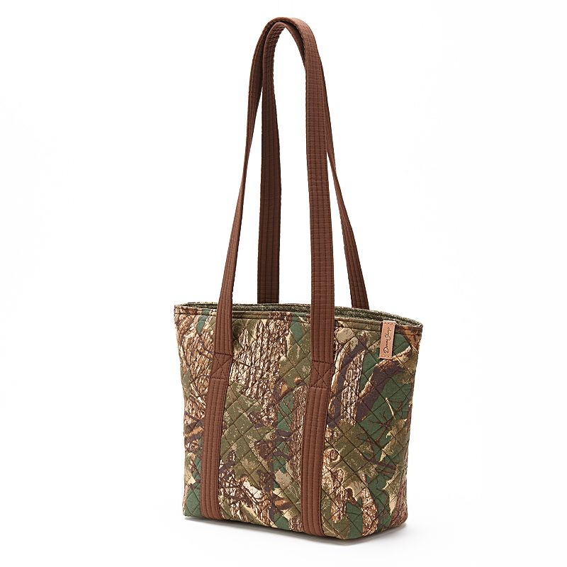Donna Sharp Quilted Camouflage Tote