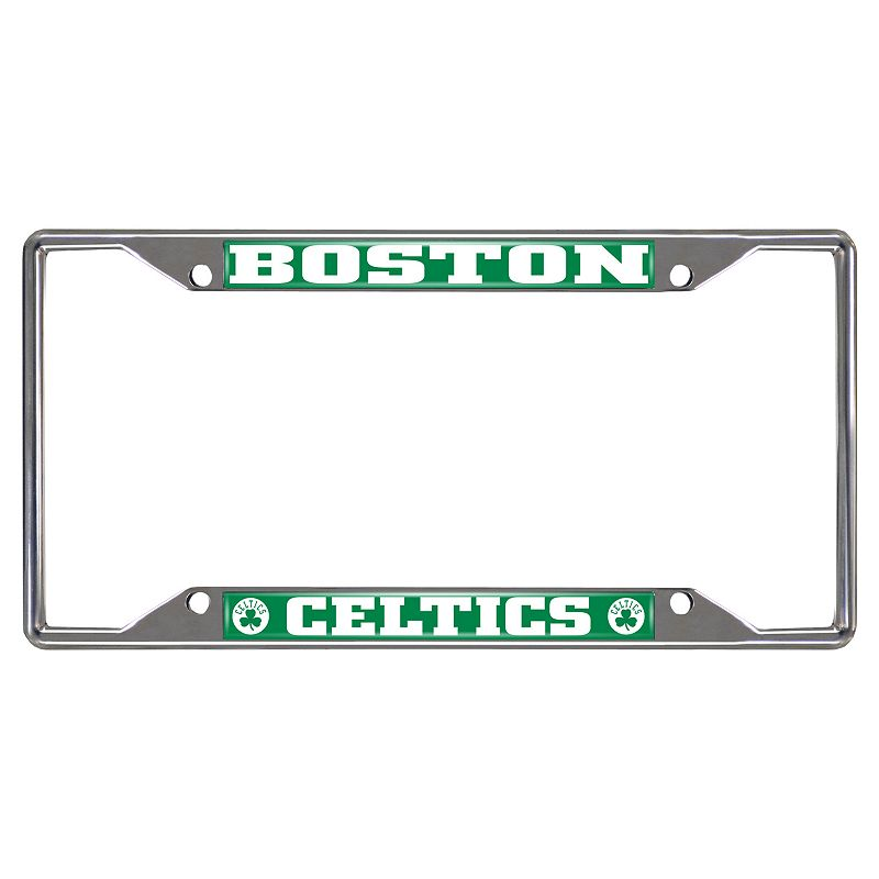 Boston Celtics License Plate Frame