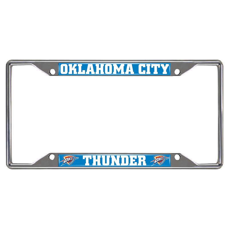 Oklahoma City Thunder License Plate Frame