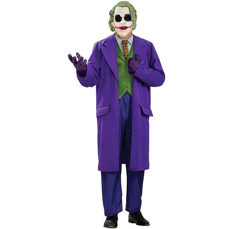 Batman Dark Knight The Joker Deluxe Costume - Adult Plus
